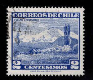 Chile Scott 325 Used stamp 29x25mm