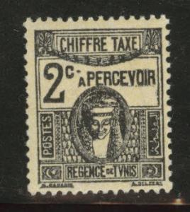 Tunis Tunisia Scott J13 MH* 1922 postage due