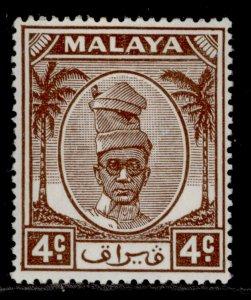 MALAYSIA - Perak GVI SG131, 4c brown, M MINT.