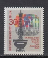 Berlin - 1967 Radio Tower Mi# 309 - MNH (6596)