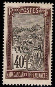 Madagascar Scott 98 MH* stamp