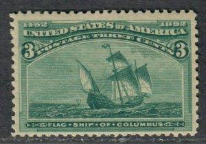$US Sc#232 M/LH/F-VF, Cv. $35
