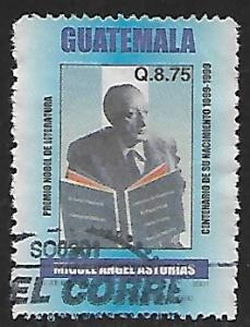 Guatemala # 474 - Miguel Angel Asturias - used   -{BRN17}