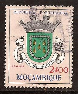 Mozambique  #  414  used