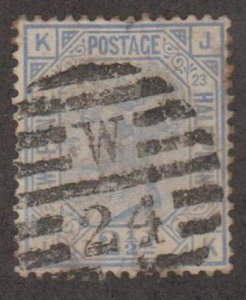 Great Britain Scott #82 Plate 23 Stamp - Used Single