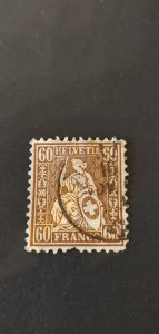 Switzerland #48 Used