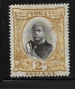 TONGA, 41, MINT HINGED, GEORGE II,