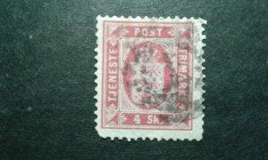 Denmark #O2 used perf 14x13.5 e205 9390