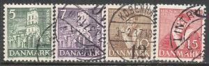 DENMARK 252-255 VFU P277-2