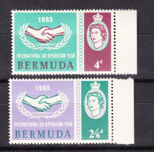 J27272 1965 bermuda set mnh #199-200