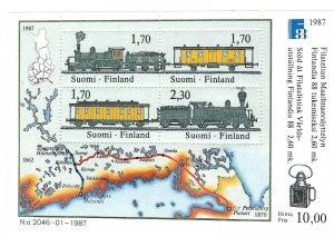 Finland  755   SS   Mint NH VF 1987 PD