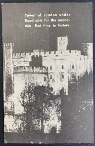 1937 London England Postcard Cover To Toronto Canada Tower Of London