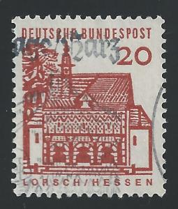 Germany #9N217 20pf Portico, Lorsch