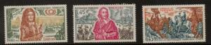 FRANCE SG1896/8 1986 HISTORY OF FRANCE MNH