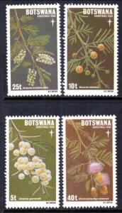 Botswana 258-261 MNH VF
