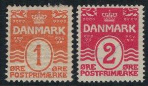 Denmark #57-8* CV $6.00