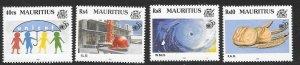 MAURITIUS SG931/4 1995 UNITED NATIONS MNH