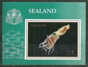 Sealand MNH S/S Squid Marine Life