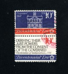 USA #1543, 1545  used 1974 PD .16