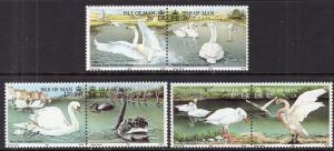 Isle of Man 482-487a Birds MNH VF