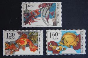 Czech Republic, Fish, series, Czechoslovakia, (114(IR))