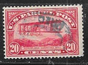 US # Q8 $0.20 Carmine Rose   (U) CV $25.00