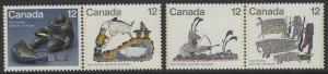 CANADA SG898/901 1977 CANADIAN ESKIMOS MNH