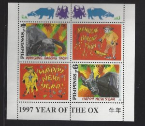 2447a 1997 Year of the Ox CV$4