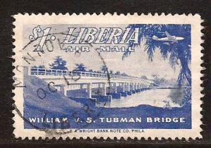 Liberia  #  C - 76  used.