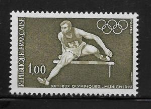 FRANCE, 1348, MNH, OLYMPIC HURDLES