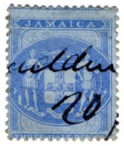 (I.B) Jamaica Revenue : Customs 1½d (1857)