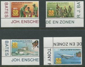 STAMP STATION PERTH Papua New Guinea #536-539 Pictorial Definit MNH 1981 CV$2.00
