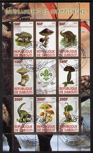 Dschibuti Z08 Djb17419ab Djibouti 2017 Metropolitan Museum Of Art Mnh ** Postfrisch Set Briefmarken