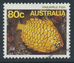 Australia SG 934 Used   SC# 917  Marine Life  1985  see scan