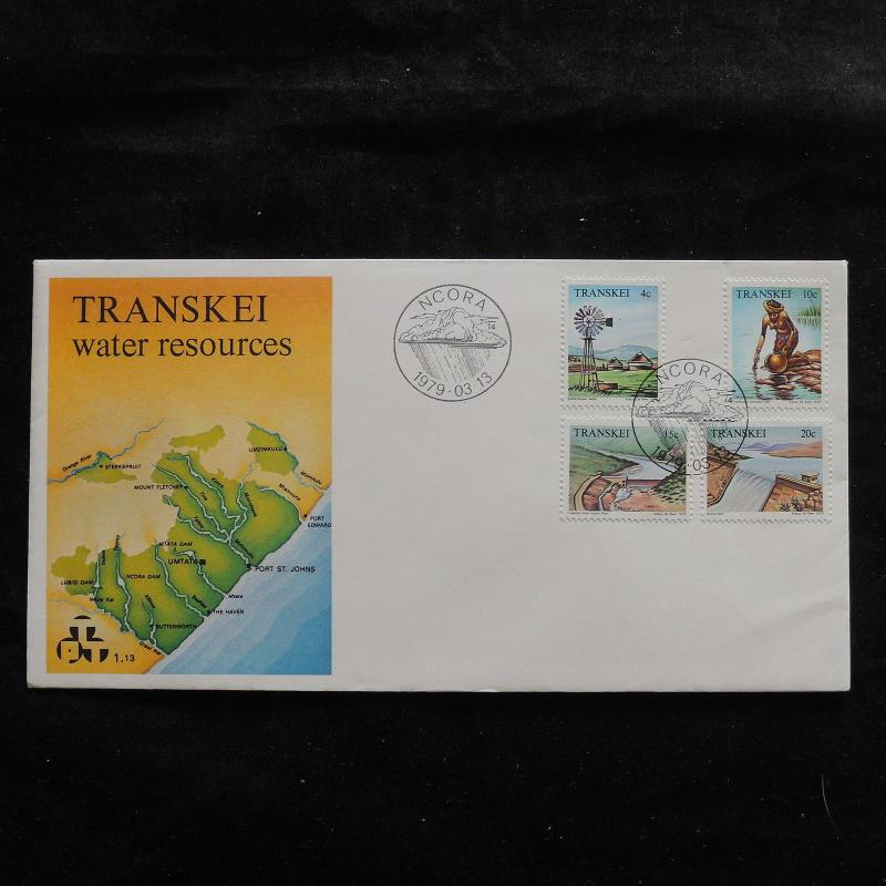 ZS-U244 TRANSKEI - Fdc, 1979, Ncora, Views, Landscapes, Great Franking Cover