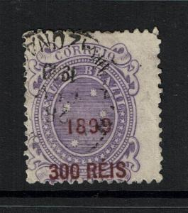 Brazil SC# 153, Used, Shallow Center Thin - Lot 071117