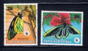Papua New Guinea 699-700 1988 Used issues