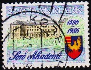 Denmark. 1986 2k80 S.G.821 Fine Used