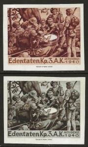 Switzerland 1939-45 WWII Feldpost Soldier PARAMEDIC Local Vignettes F-NH