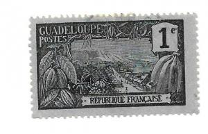 Guadeloupe 1905 - U - Scott #54