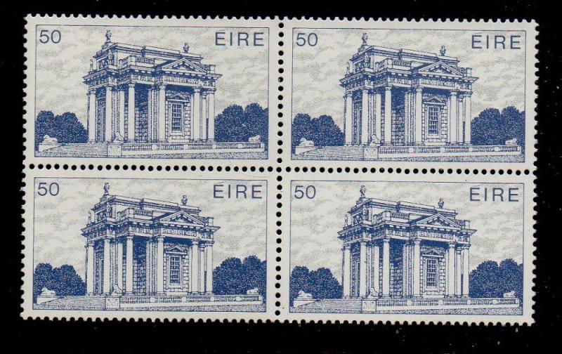 Ireland Sc 554 1983 50p Casino stamp block of 4 mint NH