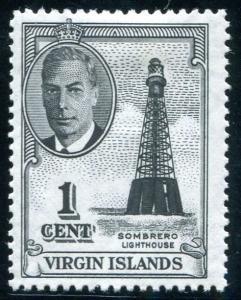 British Virgin Islands Sc#102 MH (VI)