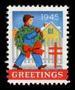 WX 125 Christmas Seal Mint (NH) 1945