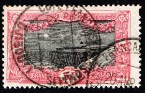 FRANCE STAMP COLONIES SOMALI COST 1915 -1933 Holl Holl Bridge 5F USED