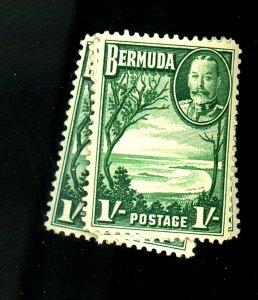 BERMUDA #114 (3) MINT F-VF OG LH Cat $12