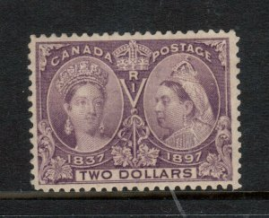 Canada #62 Very Fine Mint Disturbed Original Gum Hinged