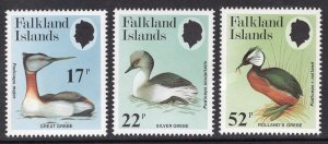 FALKLAND ISLANDS SCOTT 408-410