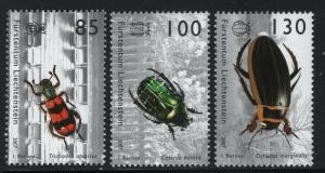 Liechtenstein 2007 Insects set Sc# 1390-92 NH