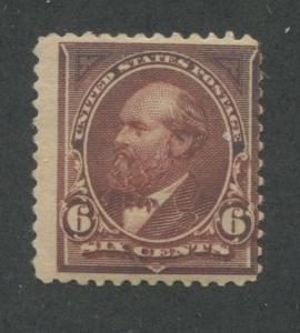 1895 US Stamp #271 6c Mint Never Hinged Average Catalogue Value $150