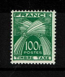 France SC# J92, Mint Never Hinged - S3837